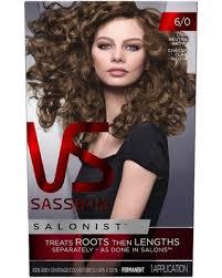 light caramel brown hair color bargains on vidal sassoon salonist hair colour permanent color 6 0