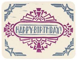 deco birthday cards ideas darling unused 1920 u0027s art deco