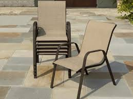 Patio Chair Sling Stack Sling Patio Chair Real Estate