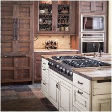 kitchen rustic kitchen decorating ideas distressed wood cabinets
