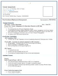 free resume formats modern free resume format for mba freshers 10000 cv