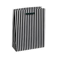 black and white striped gift bags black white stripe gift bag angel wholesale