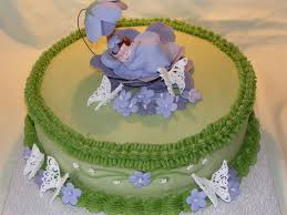 garden themed baby shower cakecentral com