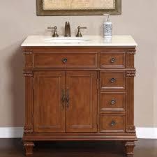 bathroom vanity cabinets single sink silkroad exclusive 36 inch