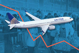 united stock decreases after passenger dragged off plane money