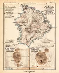 Map Hawaii The Big Island Maps Pinterest Big Island Hawaii And Volcano