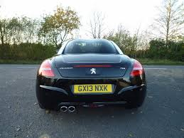 peugeot coupe rcz used black peugeot rcz for sale suffolk
