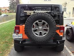 aev jeep rear bumper fs expedition one rear bumper w tire carrier