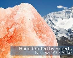 himalayan glow salt l hemingweigh himalayan glow hand carved natural crystal himalayan