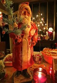 310 best santas images on pinterest antique christmas father