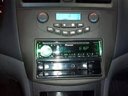 2003 honda accord dash 2003 2007 honda accord with pioneer radio in factory look dash