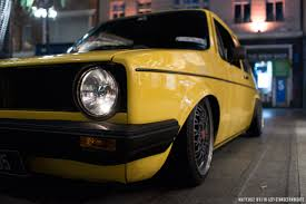 volkswagen thing yellow mo u0027s vw golf mk1 stancesyndicate