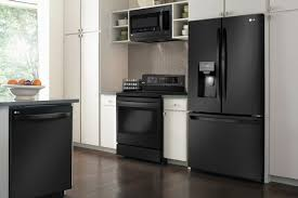 gray kitchen cabinets with black stainless steel appliances black stainless steel appliances yay or nay appliance