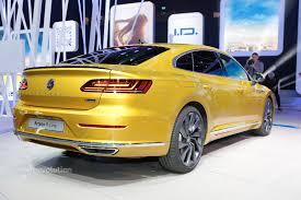 volkswagen arteon is a gorgeous five door coupe in geneva call it