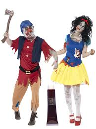 Couples Jester Halloween Costumes Zombie Snow Fright Dwarf Couples Halloween Fancy Dress Costumes