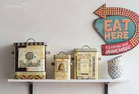 2016 3 Maison Lori Decorative Tin Bee Skep Boxes & Sign Lori Tin