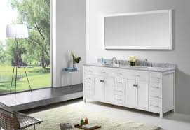 virtu usa caroline parkway 78 bathroom vanity cabinet in white