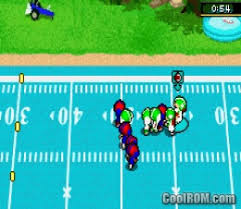 Backyard Football Ps2 by Backyard Football Rom Download For Gameboy Advance Gba Coolrom Com