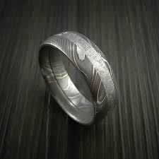 damascus steel wedding band damascus steel revolution jewelry