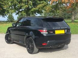 range rover sport black used santorini black land rover range rover sport for sale west