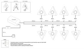 Under Kitchen Cabinet Light Led Triangle With Switch Satin Kitchen Under Cabinet Light Set Kit