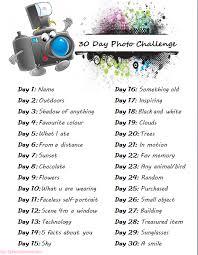 february photo challenge an instagram to do list description
