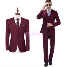 mens slim chic tuxedo 3 piece wedding dress formal suits coats