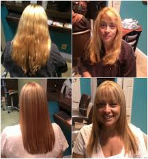 nikki u0027s before u0026 after long hairstyle perfect for summer
