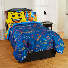 Lego Bedding Set Lego The Microfiber Reversible Comforter Walmart