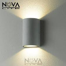 contemporary exterior light fixtures up down contemporary outdoor wall l bridgelux 10w cob led wall