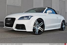 20 audi rims black and white audi tt rs by o ct fourtitude com