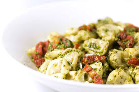 cheese tortellini with pesto and sun dried tomatoes life u0027s ambrosia