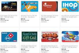 buys gift cards ebay save on gift cards for toys r us gas restaurants regal