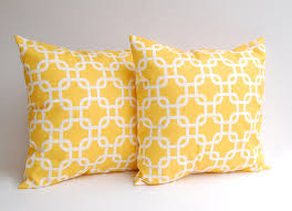 Accent Sofa Pillows by These Babies Are Going In My Bedroom Yellow Pillow Covers Set Of