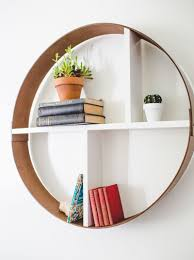 a beautiful mess diy circle shelf in 1 hour under 20 home