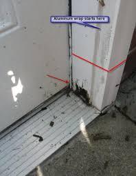 Replace Exterior Door Frame Garage Door Frame Replacement Garage Doors Glass Doors Sliding
