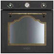 forni e piani cottura da incasso forno elettrico a convezione da incasso cortina sf750ao smeg