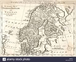 map of europe scandinavia map europe scandinavia stock photo royalty free image 56735882