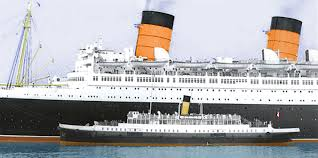 Queen Elizabeth Ii Ship by A Century On She Is Home Again Metafilter