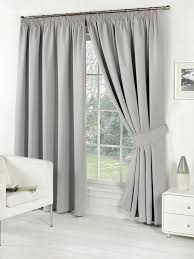 Silver Black Curtains Home Furnishings Curtains Thermal Blackout Curtains