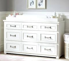 Nursery Dresser With Changing Table White Dresser Changer Obrasignoeditores Info