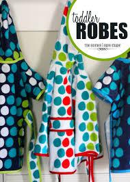 polka dot toddler robes the homes i have made