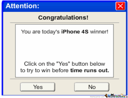 Iphone 4s Meme - you have won an iphone 4s by memer meme center