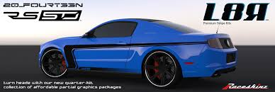 decals for ford mustang raceskinz buypoint