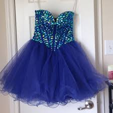 20 off sherri hill dresses u0026 skirts royal blue sherri hill