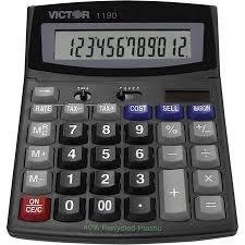calculatrice bureau de bureau 1190