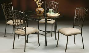 Glass Kitchen Tables by Round Glass Kitchen Table Breakfast House Photos Best Round