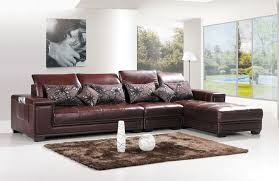 Brown Leather L Shaped Sofa Leather L Shaped Sectional Sofa Design All About House Design