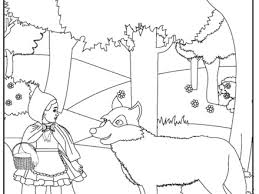 pics photos red riding hood coloring pages red