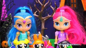 power puff girls shimmer u0026 shine halloween costume video parody